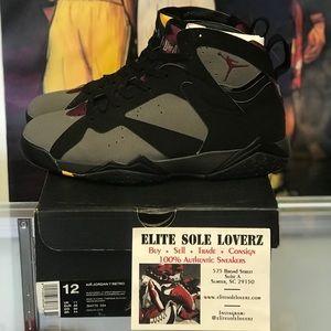 fe3bec1faca Jordan Shoes - Air Jordan 7 Bordeaux Sz 12